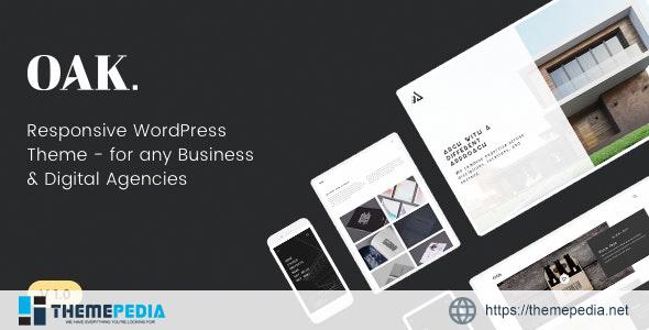 OAK – Creative Portfolio WordPress Theme [Free download]