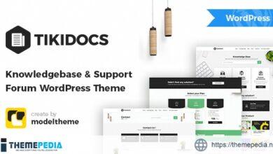 Tikidocs – Knowledgebase & Support Forum WordPress Theme + RTL [Free download]