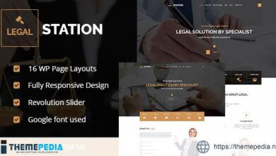 LEGAL STATION- Responsive Legal Solution WordPress Theme [Free download]