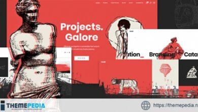 Haar – Portfolio Theme for Designers, Artists and Illustrators [Updated Version]
