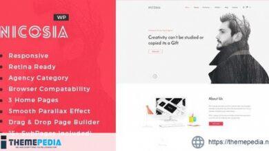 Nicosia – Online Marketing Agency WordPress Theme [Latest Version]
