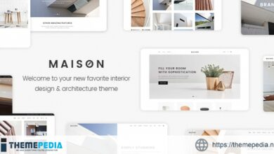 Maison – Modern Theme for Interior Designers and Architects [Updated Version]