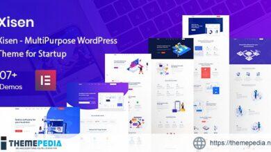 Xisen – MultiPurpose WordPress Theme for Startup [nulled]