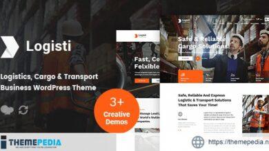Logisti – Logistics & Transport WordPress Theme [Updated Version]