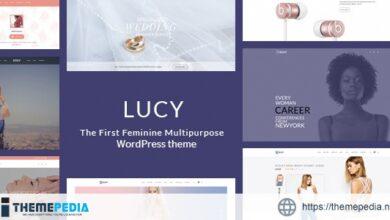 LUCY – Elegant Multipurpose Feminine WordPress Theme [Free download]