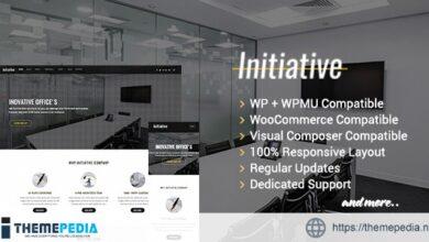 Initiative – Interior Design & Architect Company WordPress Theme [Free download]