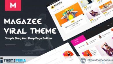 Magazee – Chic & Hot Responsive Magazine WordPress Theme [Free download]