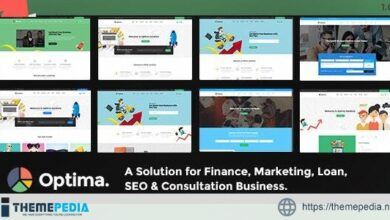 Optima – Multiple Solutions For Business WordPress Theme [Updated Version]