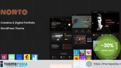 Norto – Creative Portfolio WordPress Theme [nulled]