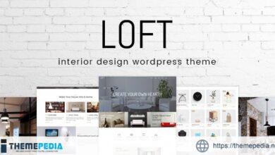 Loft – Interior Design WordPress Theme [Free download]