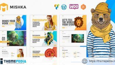 Mishka – Creative Portfolio [Free download]