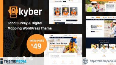 Kyber – Surveyor WordPress Theme [Free download]