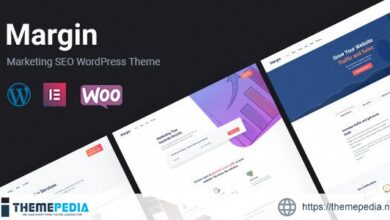 Margin – Elementor Marketing & SEO WordPress Theme [Free download]