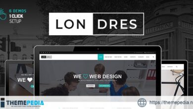 Londres – Stylish Multi-Concept WordPress Theme [Free download]