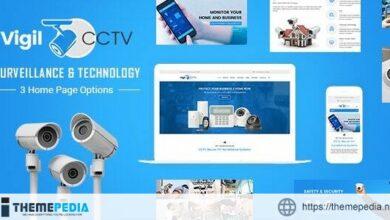 Vigil – CCTV, Home Security WordPress Theme [Free download]