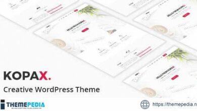 Kopax – Creative Responsive WP Theme [Free download]