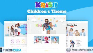 Krish – Kids Care WordPress Theme [Latest Version]