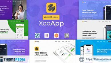 XooApp – App Landing Page WordPress Theme [Free download]