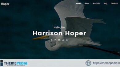Hoper – Creative Portfolio WordPress Theme [nulled]