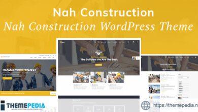 Nah Construction, Building Business WordPress Theme [Latest Version]