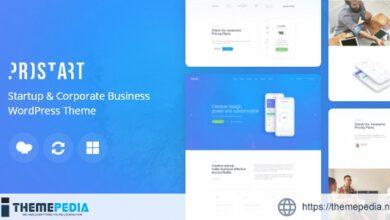 ProStart – Startup & Corporate Business WordPress Theme [Latest Version]