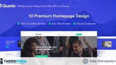 Quanto – Business Responsive WordPress Theme [Updated Version]