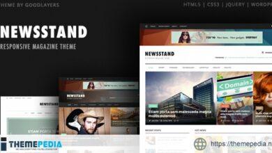 Newsstand – Magazine & Editorial WordPress [Free download]
