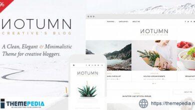 Notumn – Responsive Modern Minimalistic Blog [Updated Version]