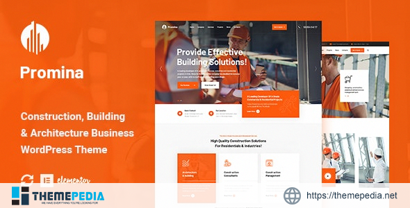 Promina – Construction And Building WordPress Theme [Free download]