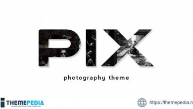 Pix – Photography WordPress Portfolio [Free download]
