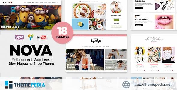 Nova – Multi-Concept Blog – Magazine WordPress Theme [Updated Version]