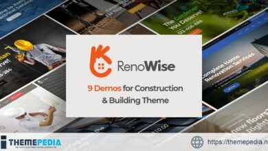 RenoWise – Construction & Building Theme [Free download]
