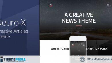 Neuro-x – Blogging Minimal Theme [Free download]