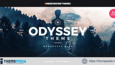 Odyssey – Personal WordPress Blog Theme [Free download]