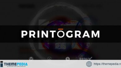 Printogram — WordPress Theme [Free download]