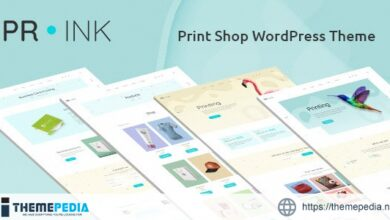 Prink – Print Shop WordPress Theme [Free download]