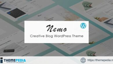 Nemo – Creative Blog WordPress Theme [Free download]