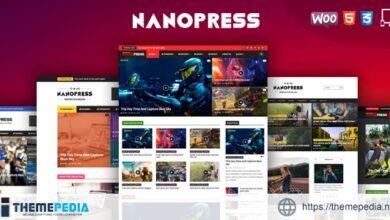 Nanopress – WordPress Responsive Blog & Magazine Theme [Free download]