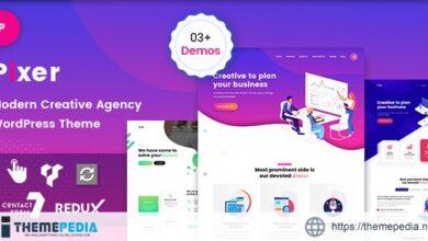 Pixer – Digital Agency WordPress [Updated Version]