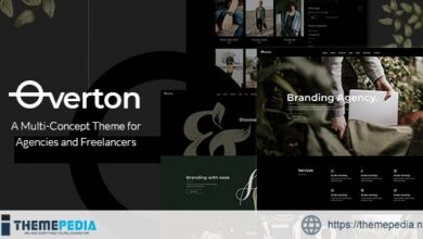 Overton – Creative Theme for Agencies and Freelancers [Free download]