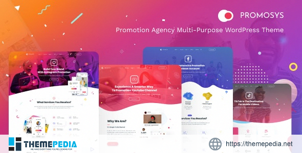 PromoSys – Promotion Services Multi-Purpose WordPress Theme [Free download]