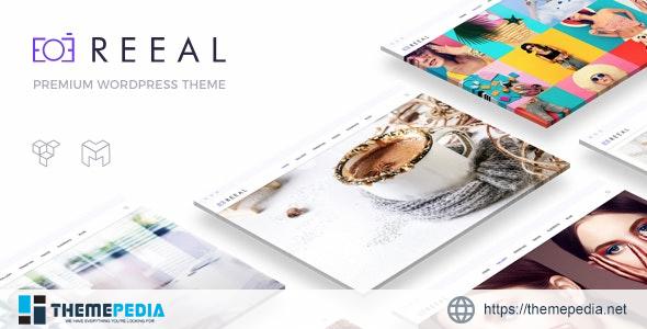 Reeal – Photography WordPress [Latest Version]