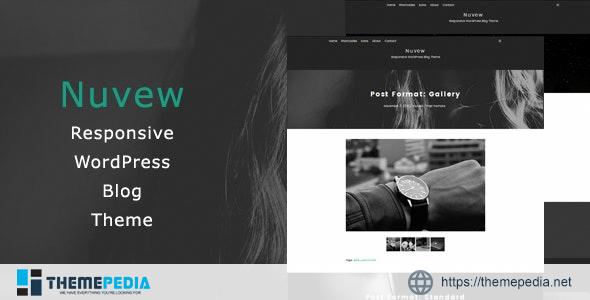 Nuvew – Responsive WordPress Blog Theme [nulled]