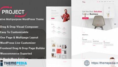 Project – Creative Multipurpose WordPress Theme [Free download]