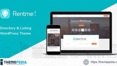 Rentme – Directory & Listings Multipurpose WordPress Theme [Free download]