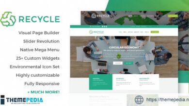 Recycle – Environmental & Green Business WordPress Theme [Latest Version]