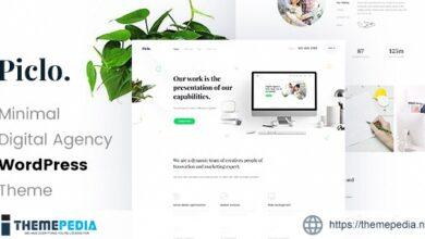Piclo – Digital Agency WordPress Theme [Free download]