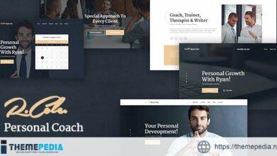 R.Cole – Life & Business Coaching WordPress Theme [Updated Version]
