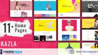Portfolio Kazla – Portfolio for Freelancers & Agencies [Free download]