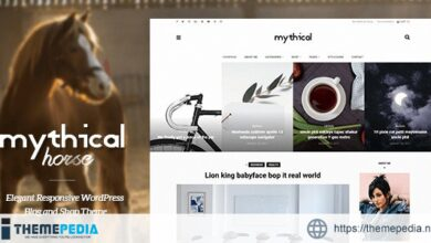 Mythical Horse – Elegant Responsive WordPress Blog and Shop Theme [Free download]